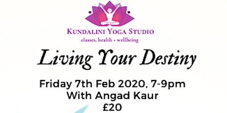 Living Your Destiny with Angad Kaur tickets