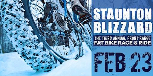 Staunton Blizzard: The 3rd Annual Front Range Fat Bike Race & Ride