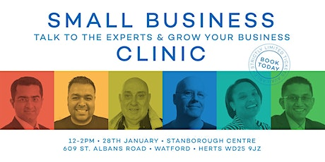 Watford Small Business Clinic - Talk to experts that can grow your business tickets