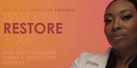 Hair Loss Restore Tour - The Science Behind Hair Loss tickets