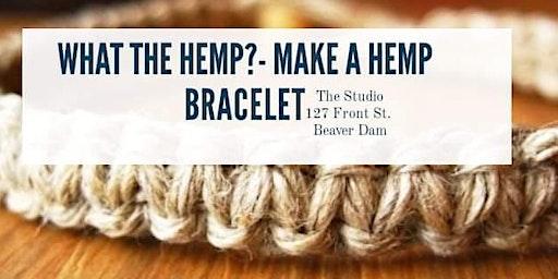 What the Hemp?! - Make a Hemp Cord Bracelet