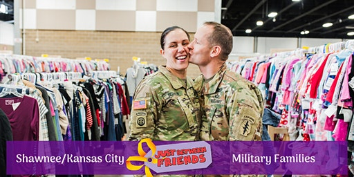 Military Presale (FREE) | Just Between Friends Shawnee/KC Spring 2020 Sale