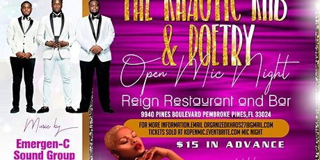 The Khaotic RnB and Poetry Open Mic Night tickets