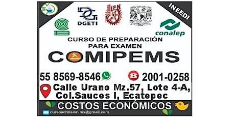 Curso de preparación para el Examen COMIPEMS boletos