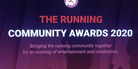 Running Community Awards 2020 - Your Ticket to the Main Event tickets