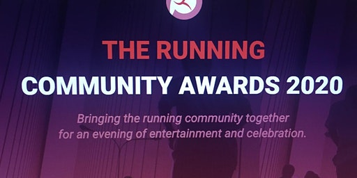 Running Community Awards 2020 - Your Ticket to the Main Event