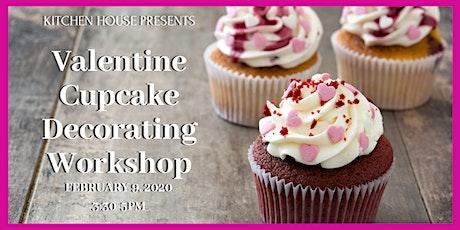 Valentine Cupcake Decorating Workshop, 2/9/20, 3:30-5pm tickets