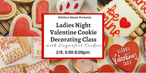 Ladies Night Valentine Cookie Decorating with Sugarfoot Cookies