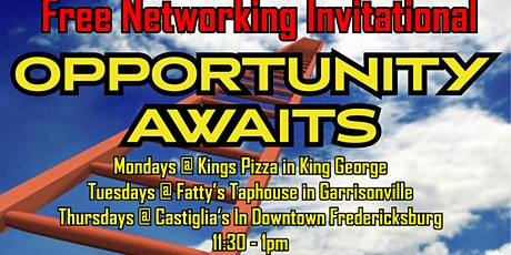 King George Free Networking Invitational tickets