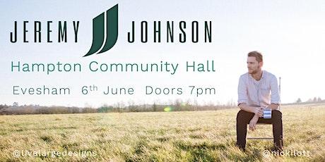 Jeremy Johnson @ Hampton Community Hall tickets