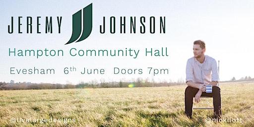 Jeremy Johnson @ Hampton Community Hall