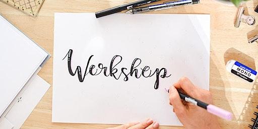 Workshop Handlettering & Brushlettering mit dieKunstliebe / Trebur / DIY / 3 Stunden / Rhein Main