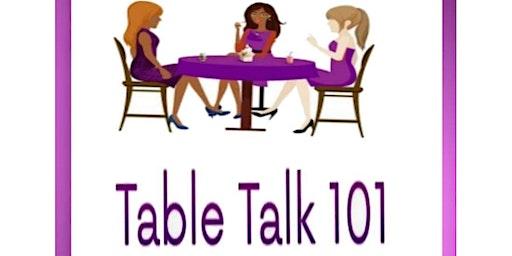 Table Talk 101 Hello 2020