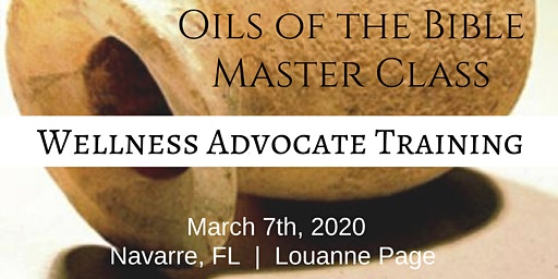 OILS OF THE BIBLE Master Class (FLORIDA)