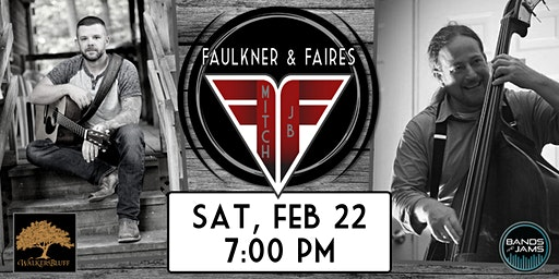 Faulkner & Faires in the Tasting Room at Walker's Bluff