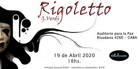 Rigoletto- Verdi entradas