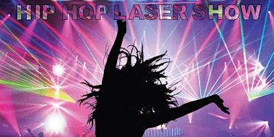 Hip Hop Laser Show, a dynamic show featuring Artist music like Monica,TI