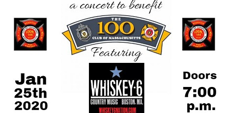 Brockton Firefighters Local 144 100 Club Benefit Concert 2020 tickets