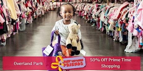 50% OFF PRIME TIME PRESALE  Just Between Friends Overland Park Spring 2020 Sale  tickets