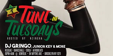 Tune In Tuesday's At Kinfolk with the best of reggae afrobeats and soca tickets