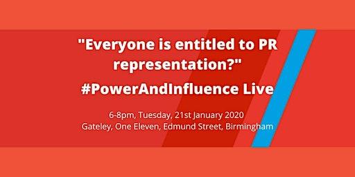 PowerAndInfluenceLive