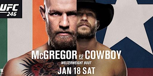 UFC 246 McGregor vs Cowboy Welterweight Bout