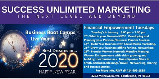 SUCCESS UNLIMITED MARKETING BUSINESS BOOTCAMPS