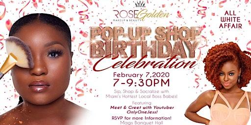 RG MakeUp & Beauty POP-UP SHOP B-Day Celebration + OnlyOneJess Meet & Greet