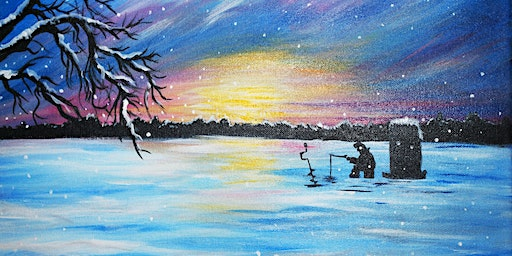 Fishing Okauchee Lake-Canvas Paint Night