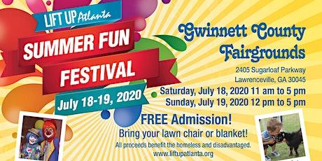 Lift Up Atlanta's 2020 Summer Fun Festival tickets