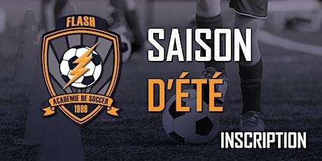 Inscription (École de soccer)(U5-U18)(Vendredi groupe 18h00 ou 19h00) - Saison d'Été 2020 (2015-2002) billets