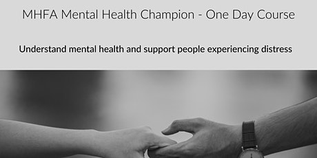MHFA Mental Health Champion (Rochdale)- Adult 1 Day  tickets
