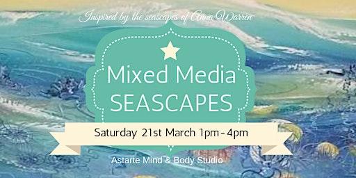 Mixed Media Seascape