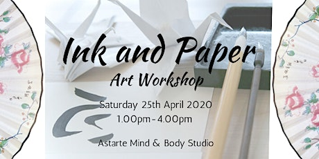 Ink and Paper Art Workshop tickets