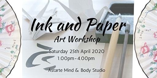 Ink and Paper Art Workshop