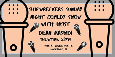 ShipWreckers Comedy Show tickets