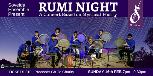 RUMI NIGHT - A Concert Based on Mystical Poetry
