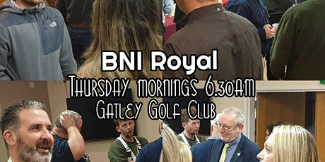 BNI Royal Networking - Gatley tickets