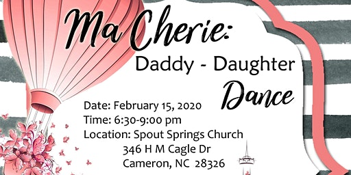 Ma Cherie: Daddy Daughter Dance