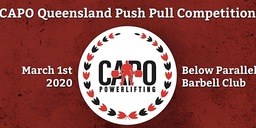 CAPO Qld Push Pull Competition