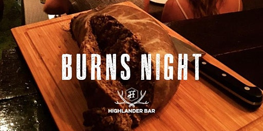 Burns Night at Highlander 2020 (Saturday)