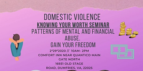 Domestic Violence Know Your Worth Seminar tickets
