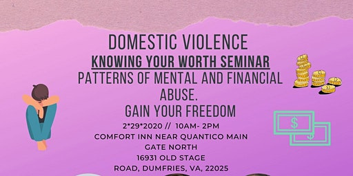 Domestic Violence Know Your Worth Seminar
