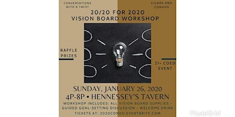 20/20 for 2020 Vision Board Workshop tickets