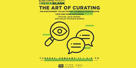 Blank Canvas x AGO: The Art of Curating | DrewABlank tickets