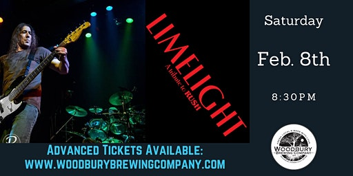 Limelight: A Tribute to RUSH at the Woodbury Brewing Company