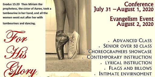 10th Annual For His Glory Praise Dance Conference