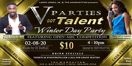 V Parties Got Talent Winter Day Party   tickets