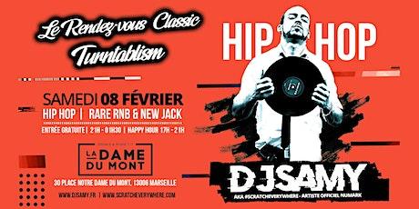 DJ SAMY @ La Dame Du Mont |Classic Hip Hop | Rare RnB & New Jack billets