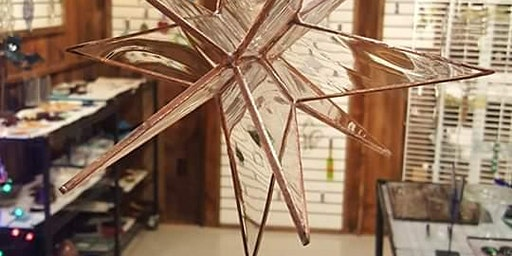 Stained Glass 3D Star with Copper Finish Workshop